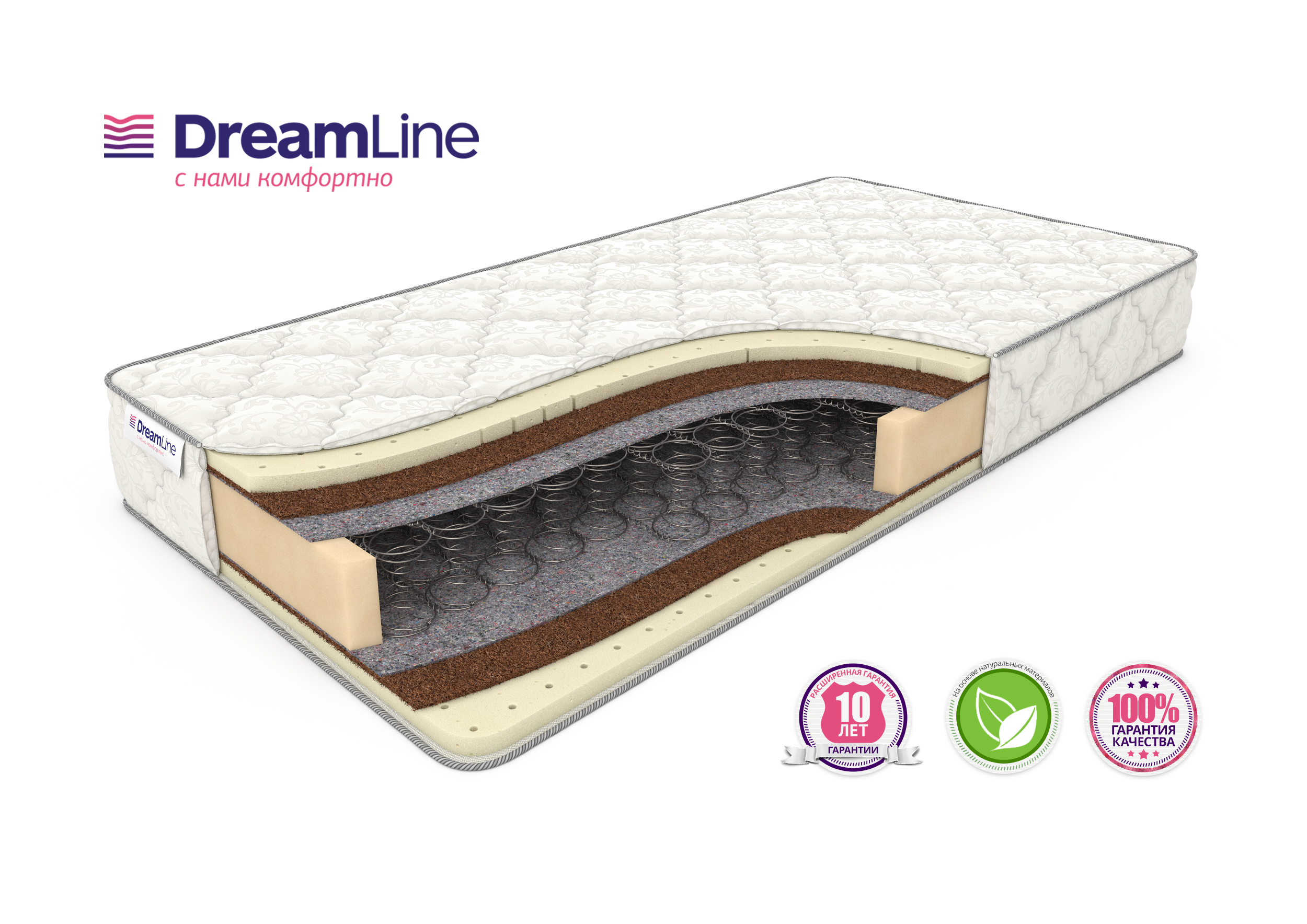 Матрас Dreamline SLEEPDREAM MEDIUM Bonnel