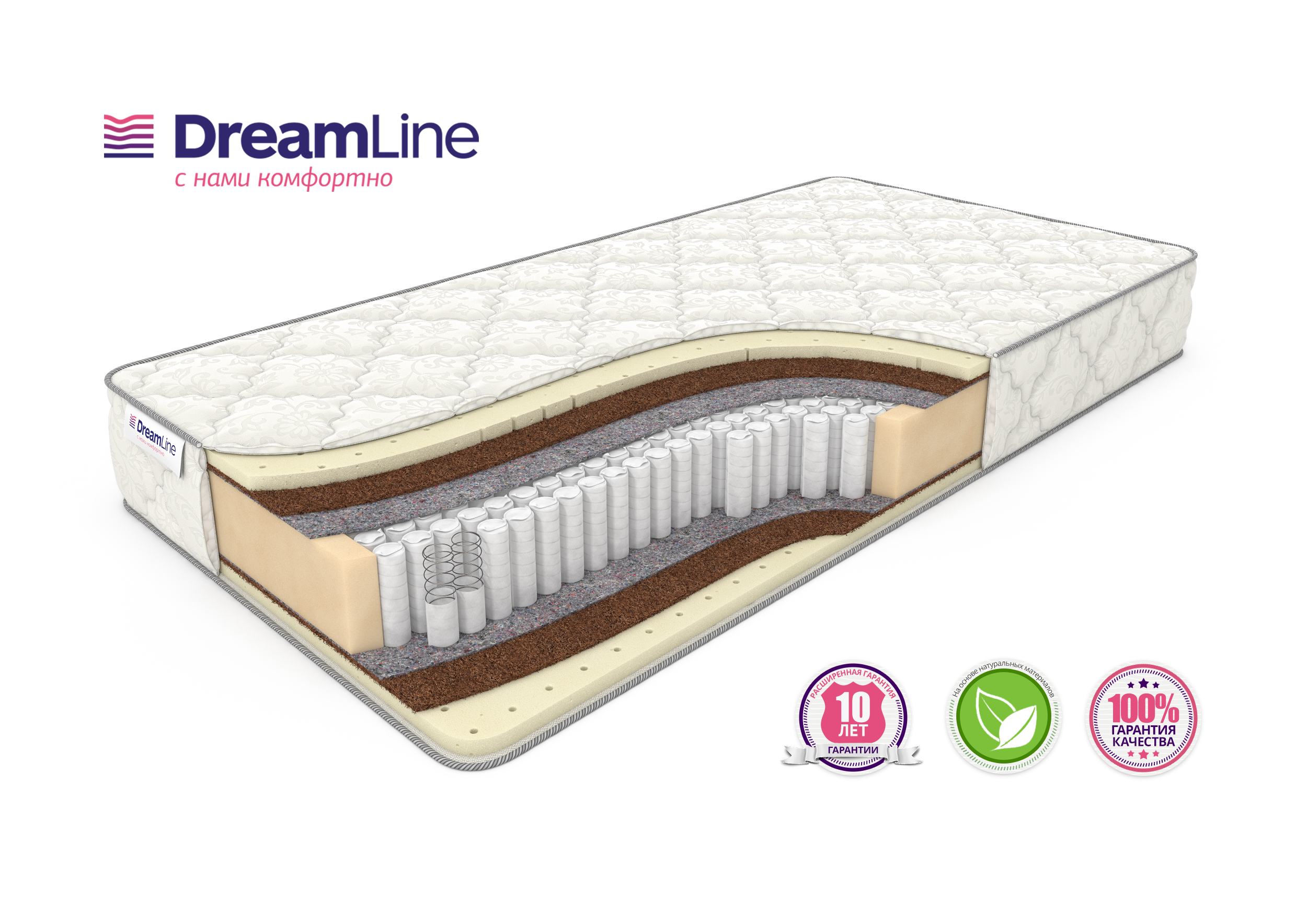 Матрас Dreamline SLEEPDREAM MEDIUM S1000